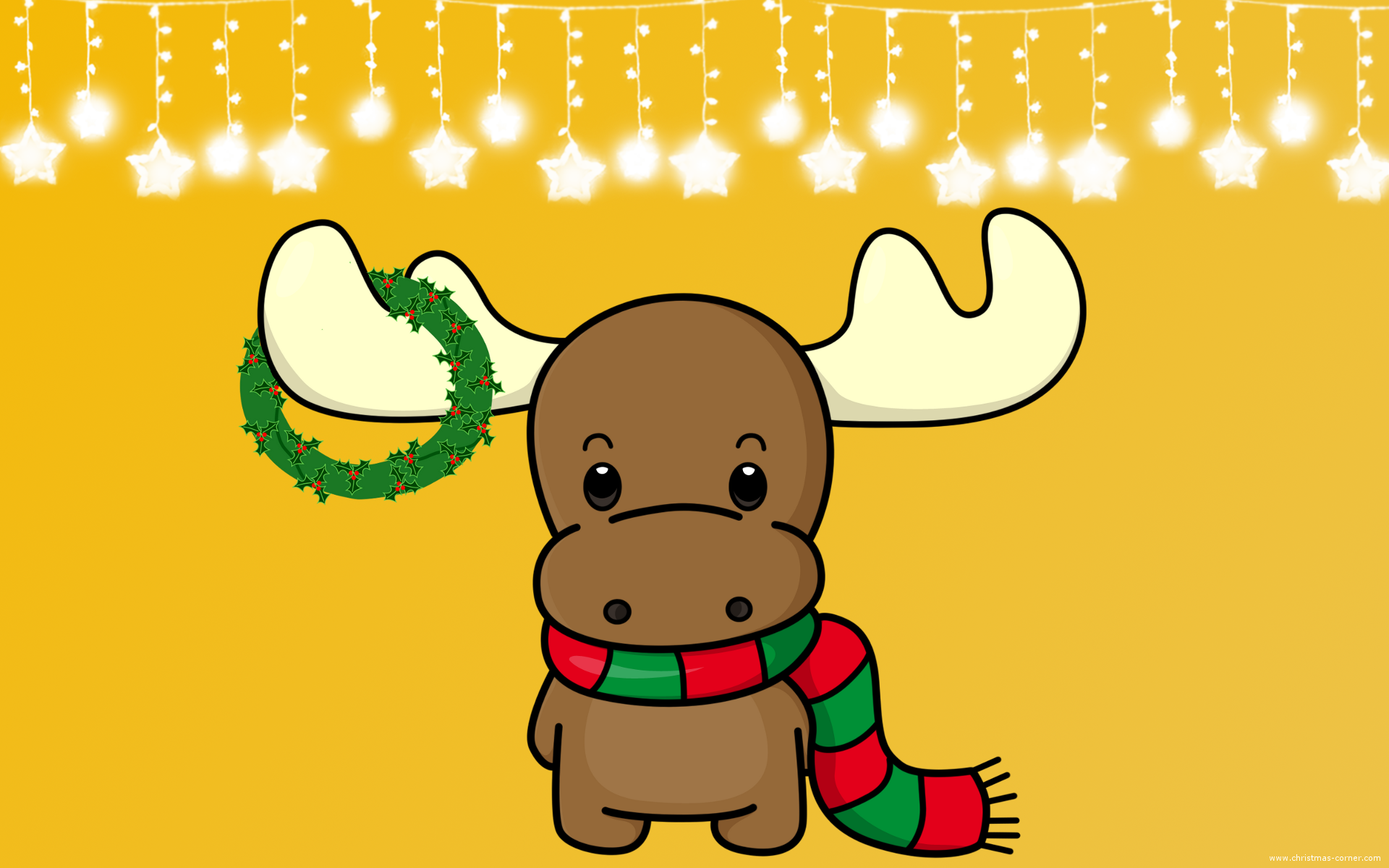 Cute Moose Wallpaper