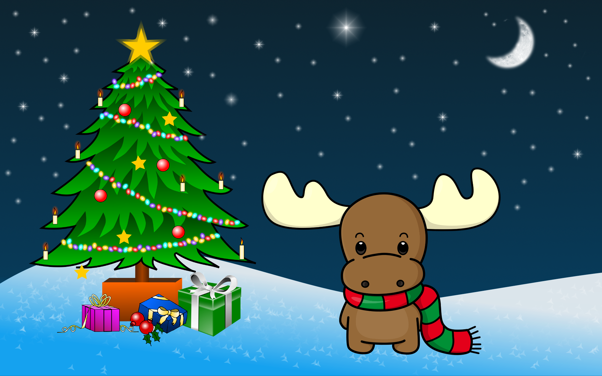 Christmas wallpaper for Pretty christmas pics