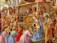 Fra Angelico Nativity wallpaper
