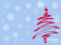 Let It Snow Christmas wallpaper