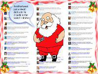 Santas Twitter List Christmas wallpaper