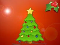 Simple Christmas Tree wallpaper